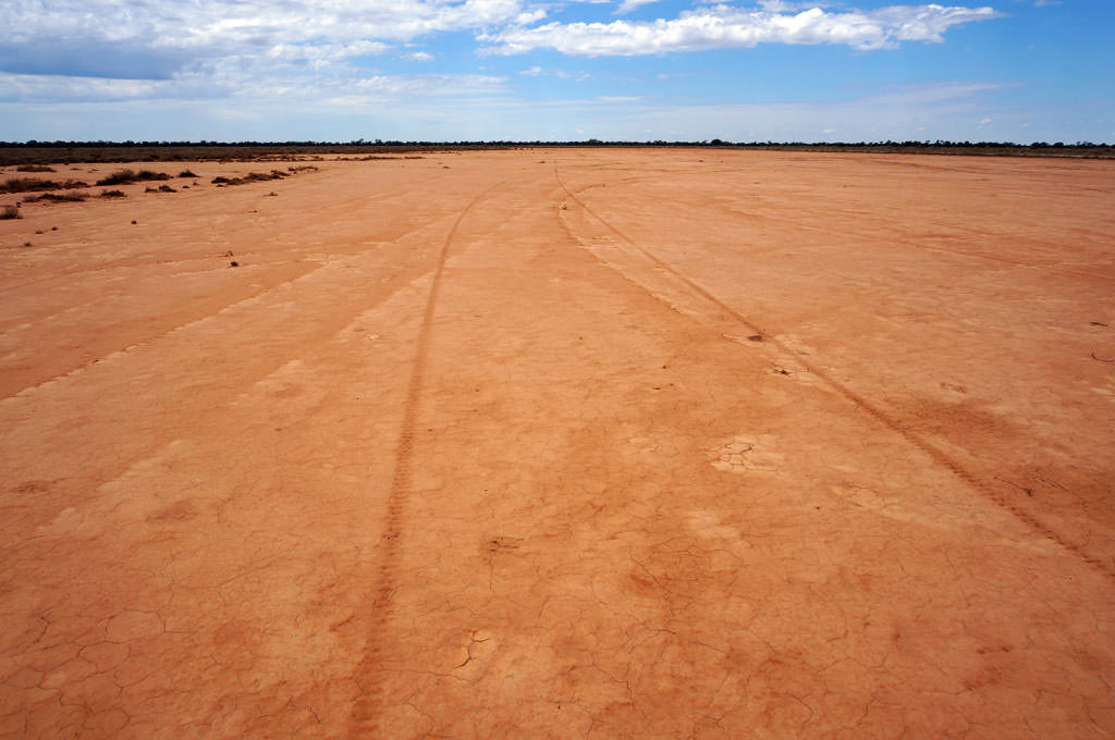 A scald in the rangelands near Nyngan